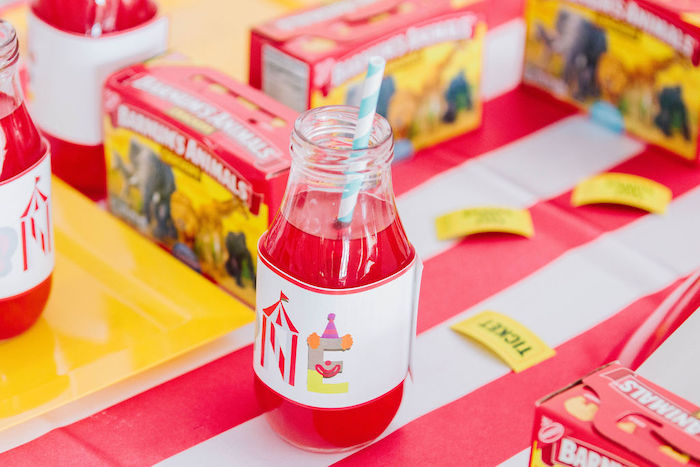 Circus Party Drink from a Circus Party on Kara's Party Ideas | KarasPartyIdeas.com (26)