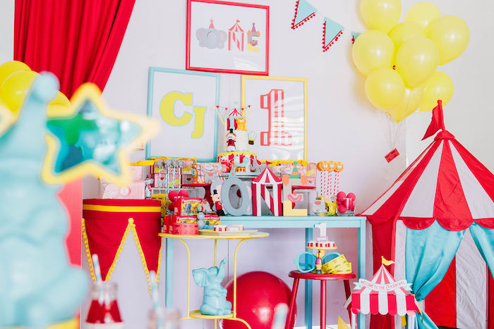 Circus Party on Kara's Party Ideas | KarasPartyIdeas.com (3)