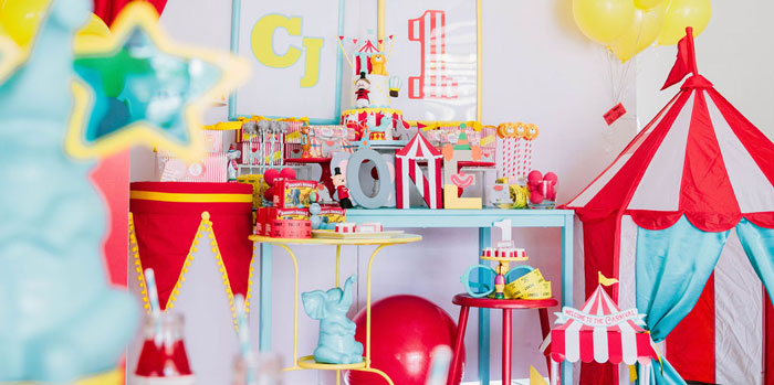 Circus Party on Kara's Party Ideas | KarasPartyIdeas.com (2)