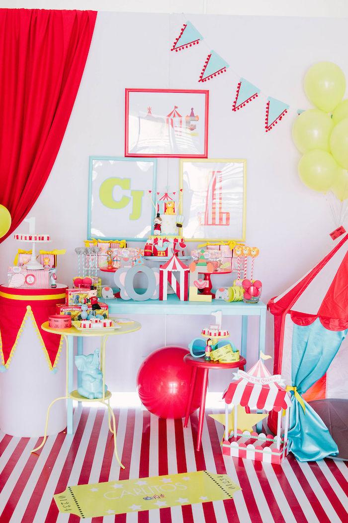 Circus Party on Kara's Party Ideas | KarasPartyIdeas.com (22)