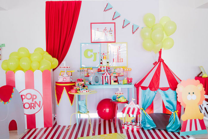 Circus Party on Kara's Party Ideas | KarasPartyIdeas.com (21)