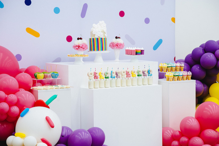 Confetti & Sprinkles Birthday Party on Kara's Party Ideas | KarasPartyIdeas.com (31)