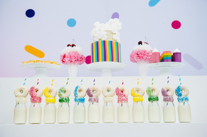 Confetti & Sprinkles Birthday Party on Kara's Party Ideas | KarasPartyIdeas.com (18)