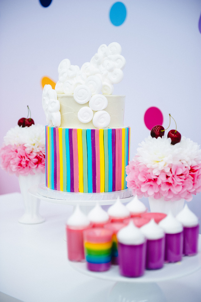 Confetti & Sprinkles Birthday Party on Kara's Party Ideas | KarasPartyIdeas.com (16)