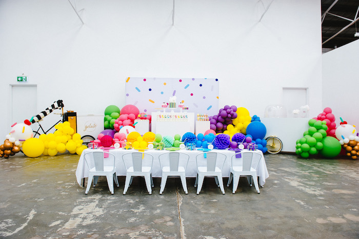 Confetti & Sprinkles Birthday Party on Kara's Party Ideas | KarasPartyIdeas.com (15)