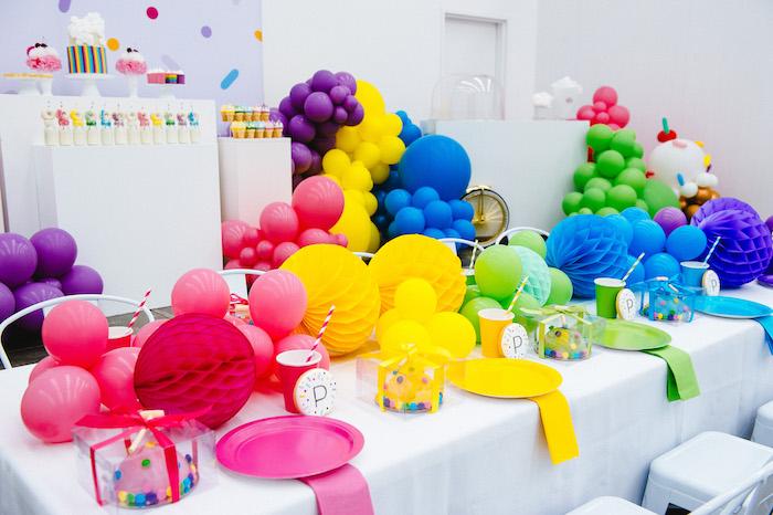 Confetti & Sprinkles Birthday Party on Kara's Party Ideas | KarasPartyIdeas.com (12)