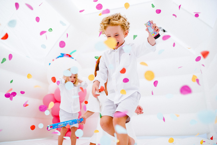 Confetti & Sprinkles Birthday Party on Kara's Party Ideas | KarasPartyIdeas.com (7)