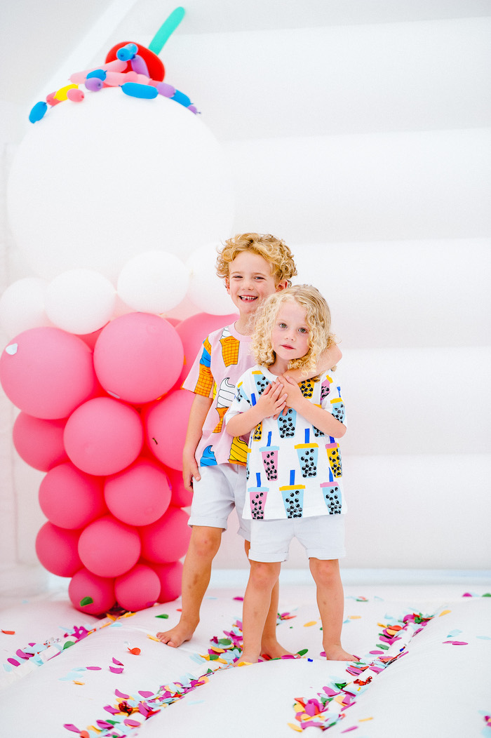 Confetti & Sprinkles Birthday Party on Kara's Party Ideas | KarasPartyIdeas.com (6)