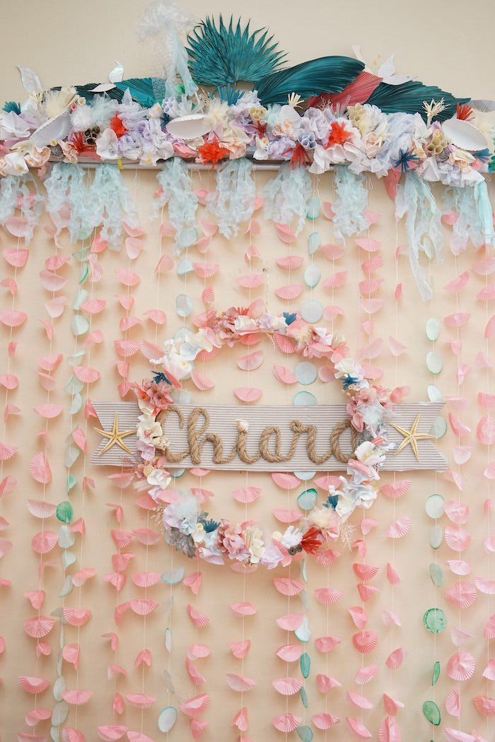 Coral Reef Mermaid Birthday Shell-abration on Kara's Party Ideas | KarasPartyIdeas.com (32)