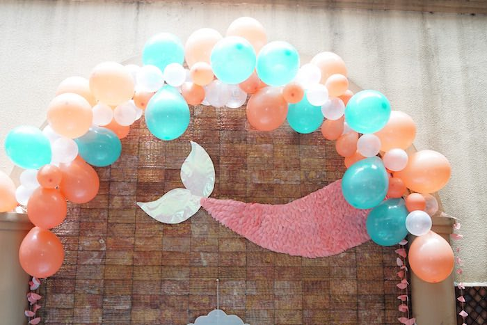 Coral Reef Mermaid Birthday Shell-abration on Kara's Party Ideas | KarasPartyIdeas.com (31)