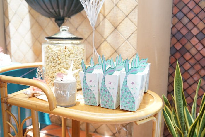 Coral Reef Mermaid Birthday Shell-abration on Kara's Party Ideas | KarasPartyIdeas.com (30)