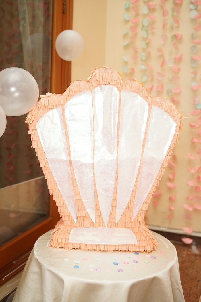 Coral Reef Mermaid Birthday Shell-abration on Kara's Party Ideas | KarasPartyIdeas.com (27)