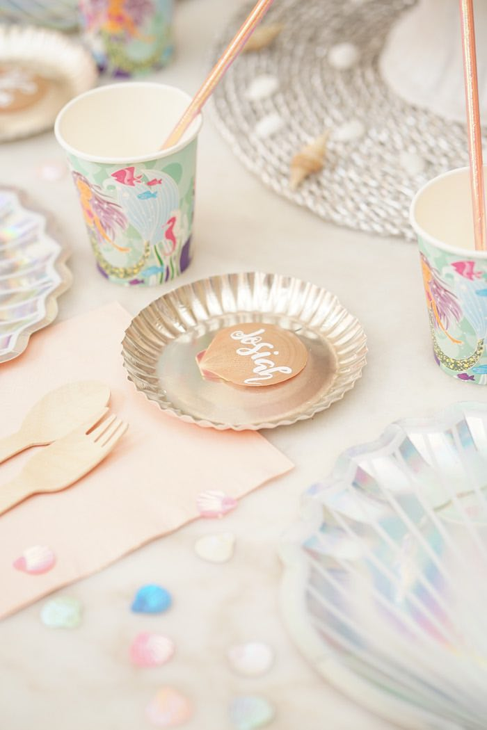 Coral Reef Mermaid Birthday Shell-abration on Kara's Party Ideas | KarasPartyIdeas.com (25)