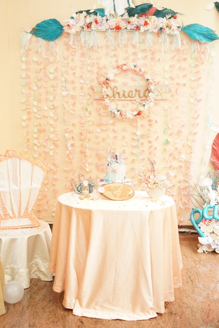 Coral Reef Mermaid Birthday Shell-abration on Kara's Party Ideas | KarasPartyIdeas.com (40)