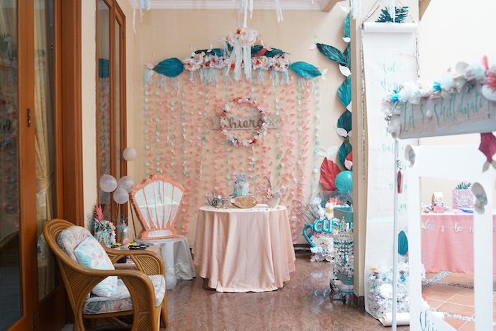 Coral Reef Mermaid Birthday Shell-abration on Kara's Party Ideas | KarasPartyIdeas.com (39)