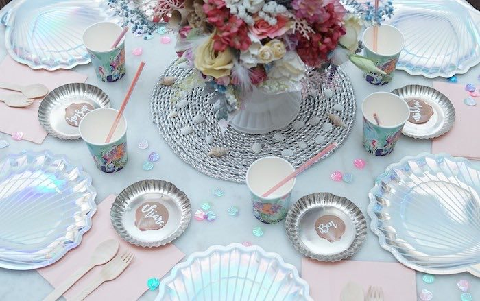 Coral Reef Mermaid Birthday Shell-abration on Kara's Party Ideas | KarasPartyIdeas.com (38)