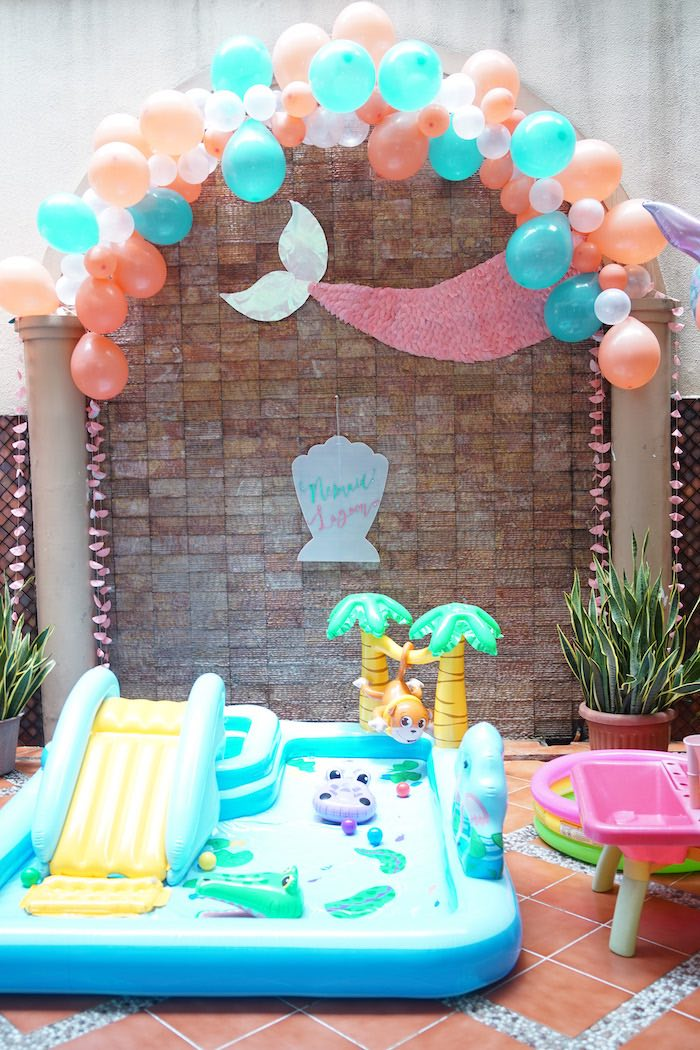 Coral Reef Mermaid Birthday Shell-abration on Kara's Party Ideas | KarasPartyIdeas.com (37)