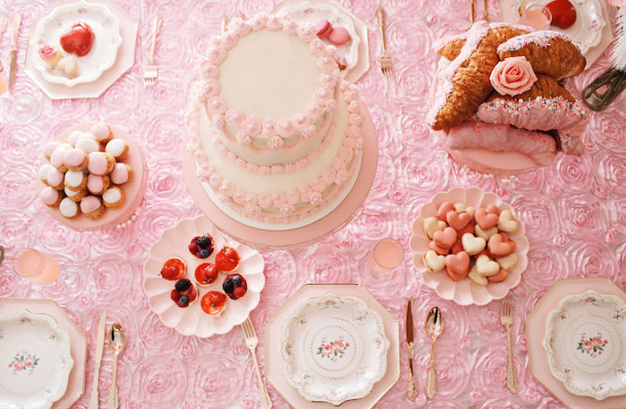 Sweet Tabletop from a Marie Antoinette Inspired Party on Kara's Party Ideas | KarasPartyIdeas.com (9)