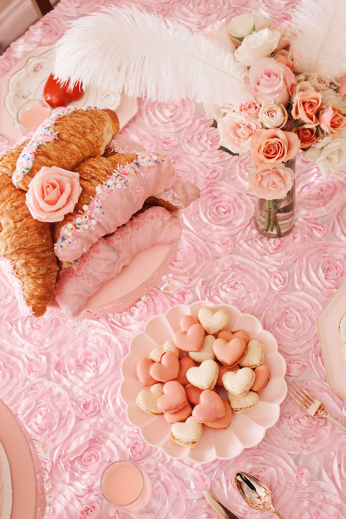 Sweet Table Detail from a Marie Antoinette Inspired Party on Kara's Party Ideas | KarasPartyIdeas.com (8)