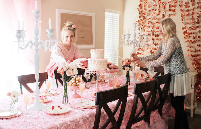 Marie Antoinette Inspired Party on Kara's Party Ideas | KarasPartyIdeas.com (4)