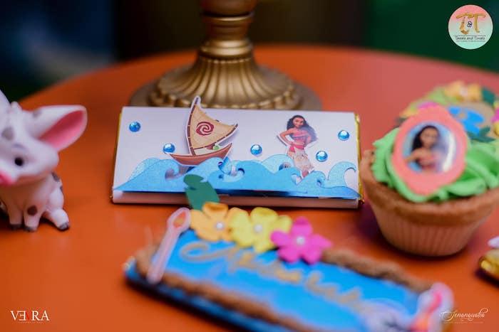 Custom Moana Themed Candy Bar Labels from a Moana Birthday Party on Kara's Party Ideas | KarasPartyIdeas.com (31)