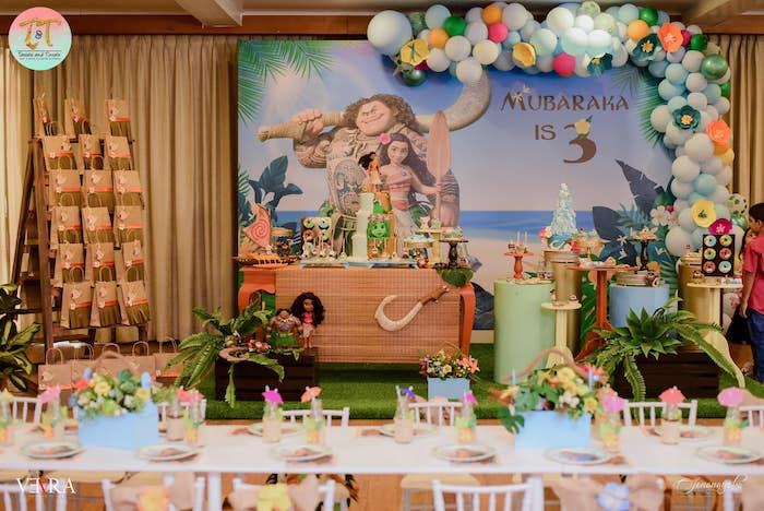 Moana Birthday Party on Kara's Party Ideas | KarasPartyIdeas.com (17)