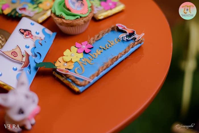 Custom Moana Themed Candy Bar Label from a Moana Birthday Party on Kara's Party Ideas | KarasPartyIdeas.com (13)