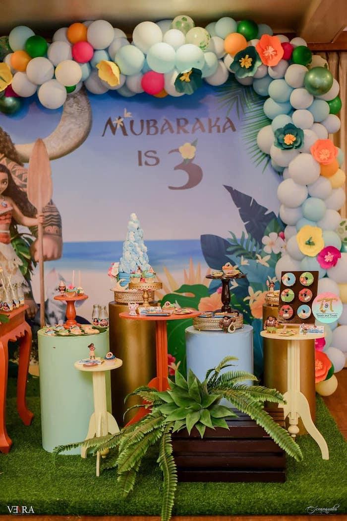 Moana Birthday Party on Kara's Party Ideas | KarasPartyIdeas.com (5)