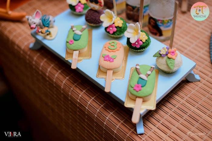 Moana Cakesicles from a Moana Birthday Party on Kara's Party Ideas | KarasPartyIdeas.com (4)