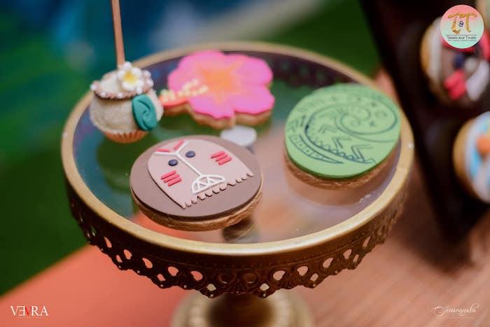 Moana Cookies + Sweets from a Moana Birthday Party on Kara's Party Ideas | KarasPartyIdeas.com (36)