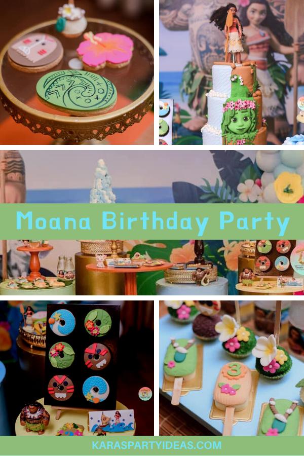 Moana Birthday Party via Kara's Party Ideas - KarasPartyIdeas.com