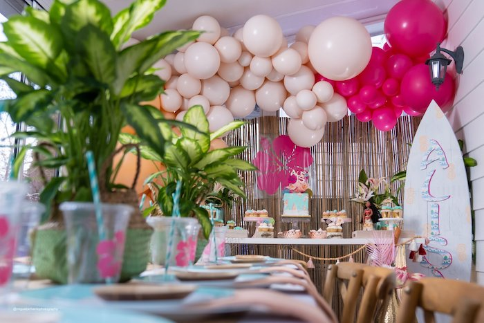 Modern & Fresh Moana Birthday Party on Kara's Party Ideas | KarasPartyIdeas.com (16)
