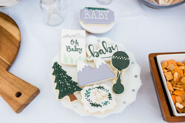 Mountain Camping Outdoor Baby Shower on Kara's Party Ideas | KarasPartyIdeas.com (16)