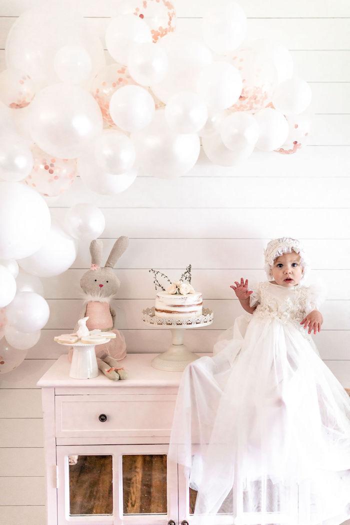 Pastel Bunny Baptism Party on Kara's Party Ideas | KarasPartyIdeas.com (10)