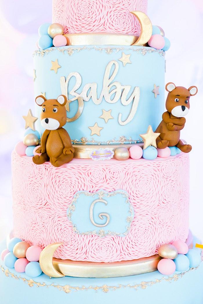 Kara's Party Ideas Pastel Donut Baby Shower + Gender ...