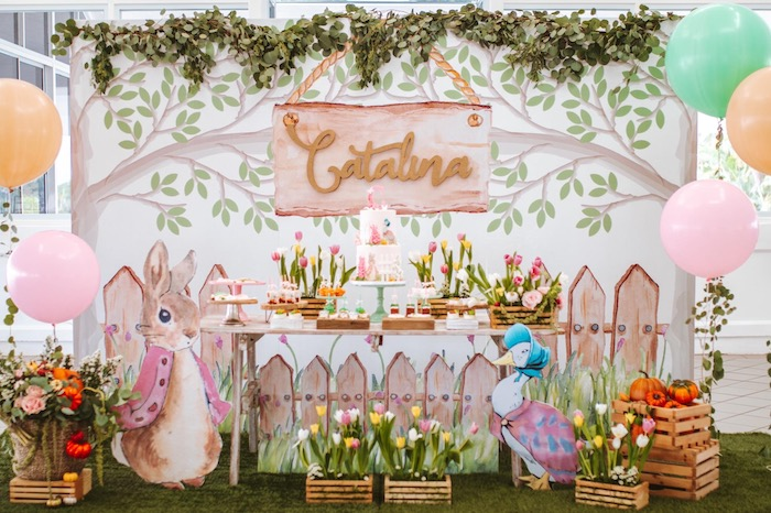 Peter Rabbit Spring Baby Shower on Kara's Party Ideas | KarasPartyIdeas.com (22)
