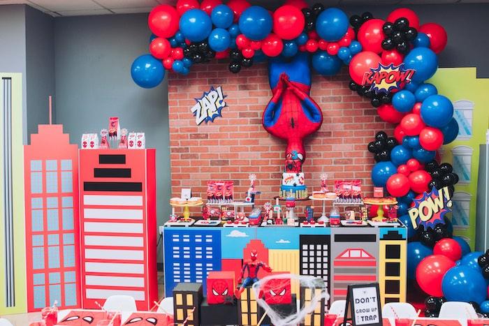 Spiderman Birthday Party on Kara's Party Ideas | KarasPartyIdeas.com (20)