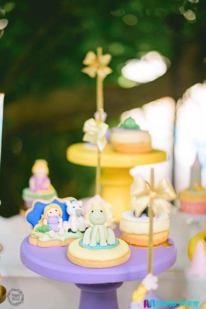 Tangled Themed Sweets from a Tangled Birthday Party on Kara's Party Ideas | KarasPartyIdeas.com (20)