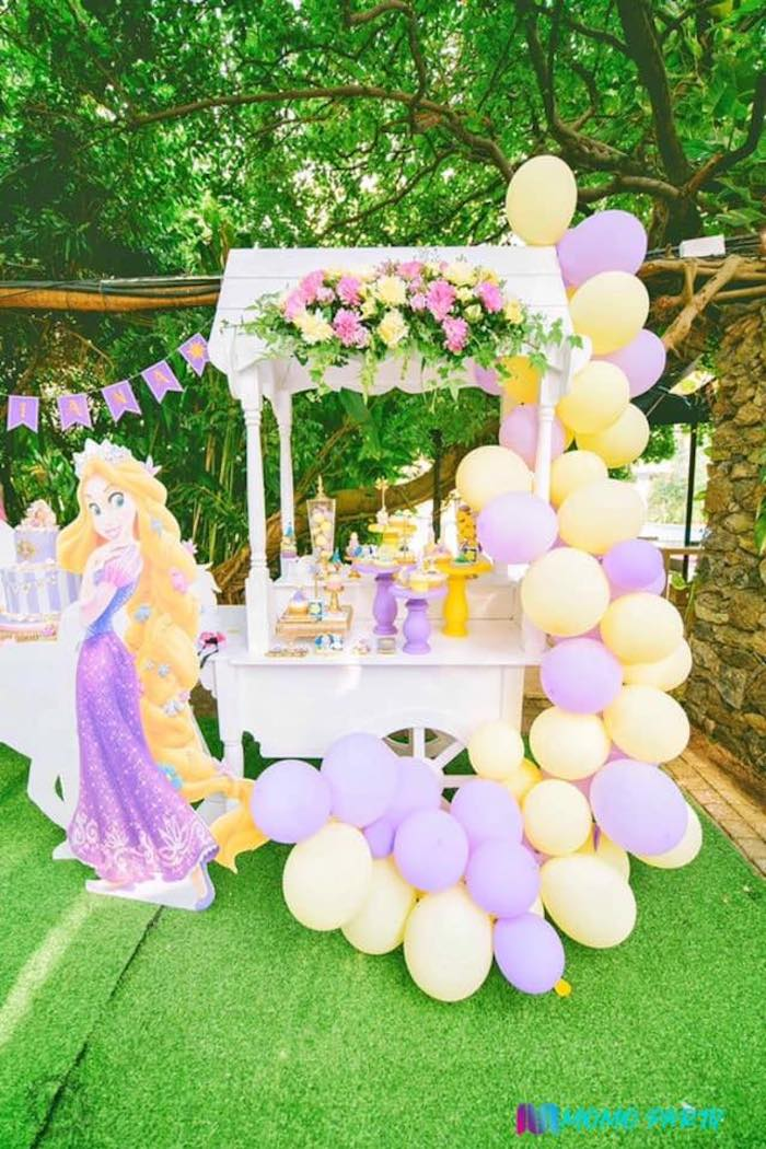 Tangled Birthday Party on Kara's Party Ideas | KarasPartyIdeas.com (19)