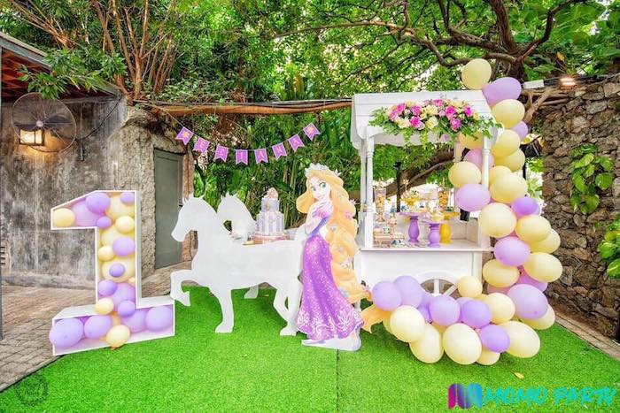 Tangled Birthday Party on Kara's Party Ideas | KarasPartyIdeas.com (15)