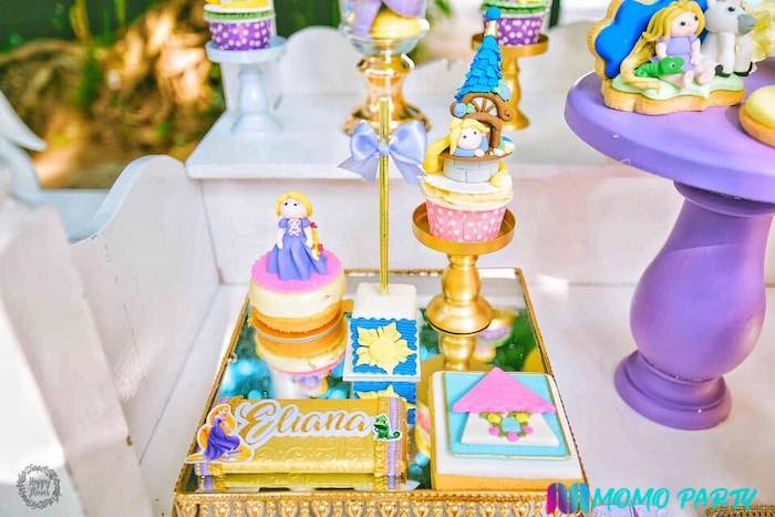 Tangled Themed Desserts from a Tangled Birthday Party on Kara's Party Ideas | KarasPartyIdeas.com (13)