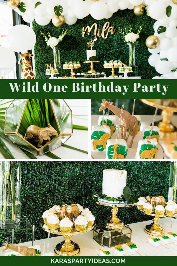 Wild One Birthday Party via KarasPartyIdeas - KarasPartyIdeas.com