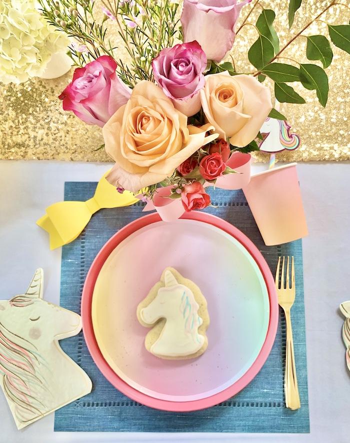 Rainbow Place de una gran fiesta de cumpleaños de Jojo Siwa Dream en Kara's Party Ideas | KarasPartyIdeas.com