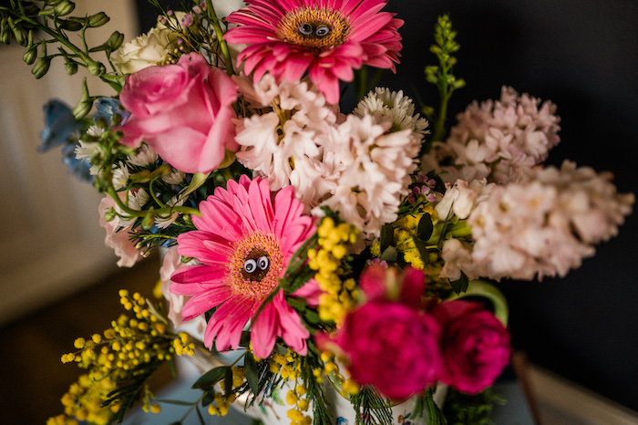 Blooms from an Alice in ONEderland 1st Birthday Tea Party on Kara's Party Ideas | KarasPartyIdeas.com (21)