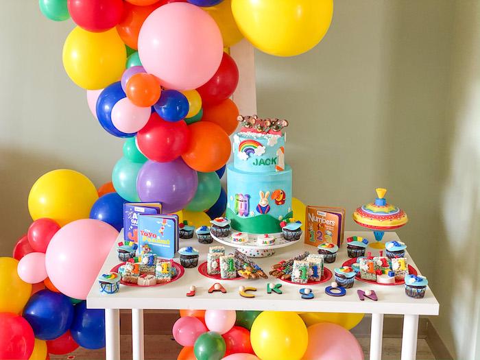 Dessert Table from a BabyFirst TV Inspired Birthday Party on Kara's Party Ideas | KarasPartyIdeas.com (31)