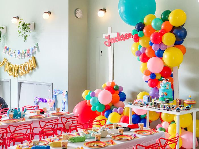 BabyFirst TV Inspired Birthday Party on Kara's Party Ideas | KarasPartyIdeas.com (30)