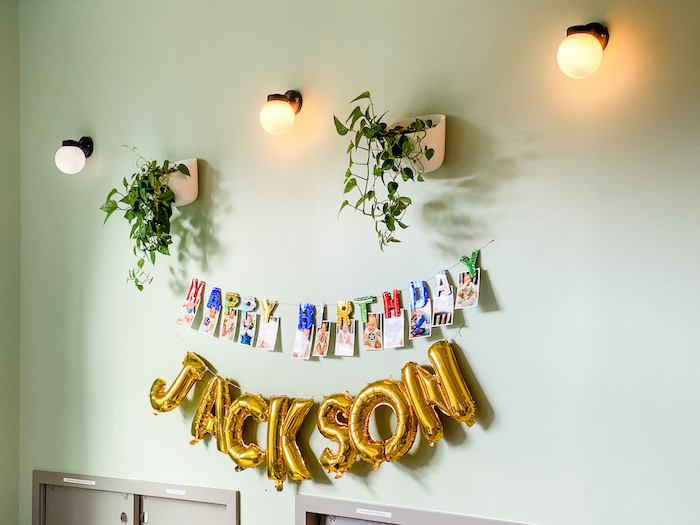 First Year Photo Banner from a BabyFirst TV Inspired Birthday Party on Kara's Party Ideas | KarasPartyIdeas.com (29)