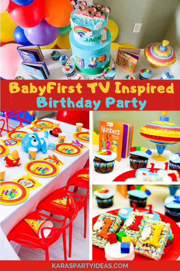 BabyFirst TV Inspired Birthday Party via Kara's Party Ideas - KarasPartyIdeas.com