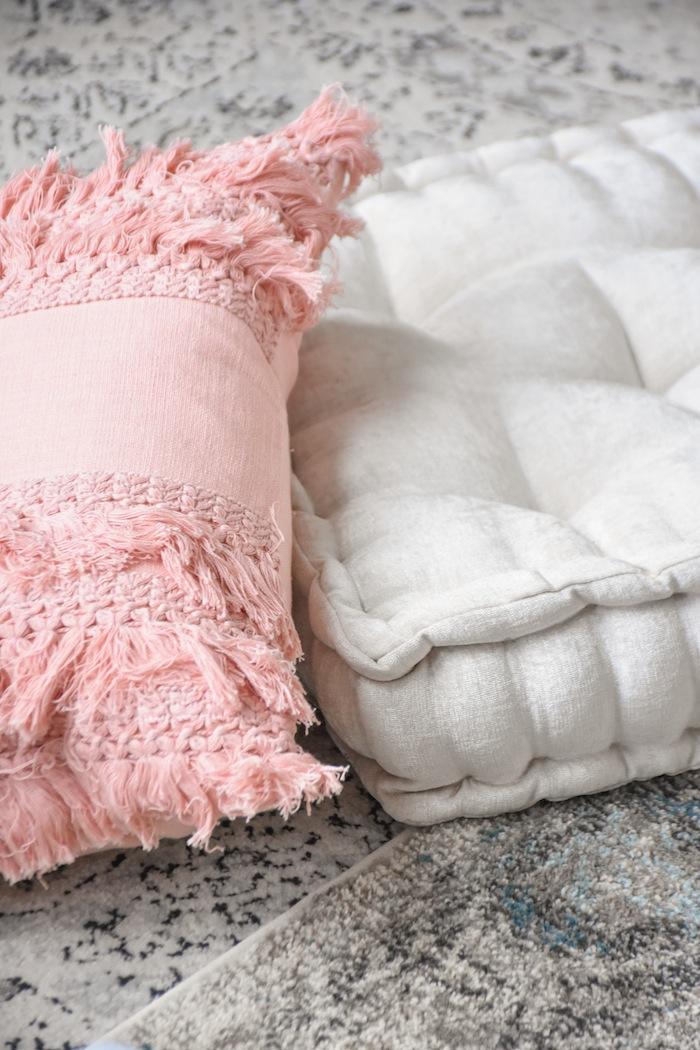 Floor PillowsQuarantine Idea Bed Bath Beyond Picnic Living Room- Kara's Party Ideas