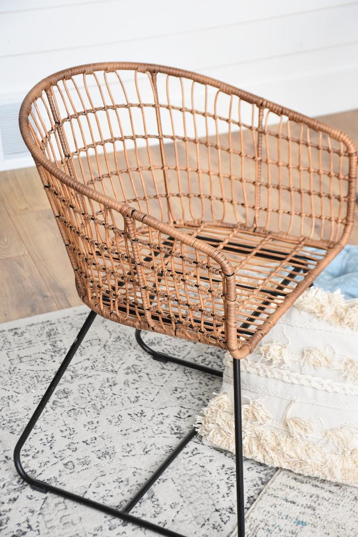 Wicker Chair Quarantine Idea Bed Bath Beyond Picnic Living Room- Kara's Party Ideas